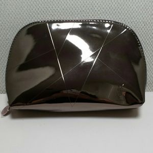 Yves Saint Laurent Metallic Makeup Bag
